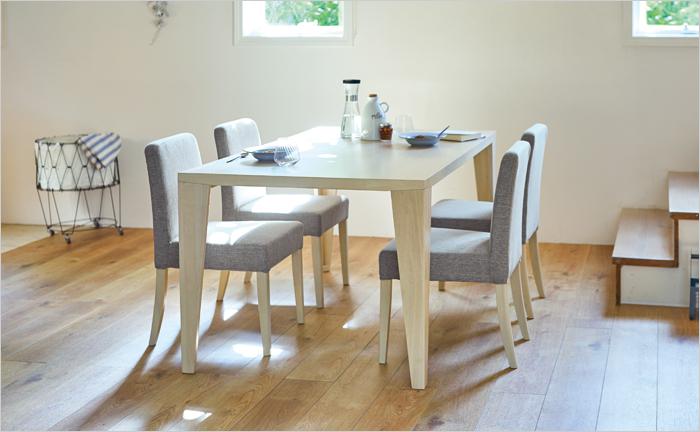 ダイニングテーブル5点セット 幅150cm DT-03-150