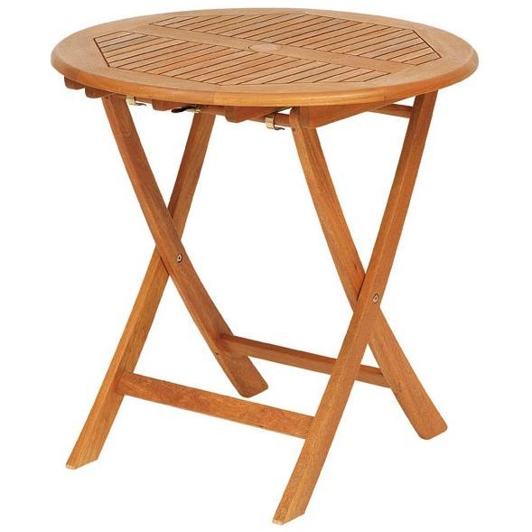 【高品質木材と天然系オイル仕上げ】ラウンドテーブル 70cm T-3