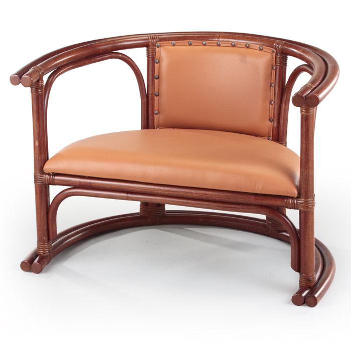 【ワンランク上の籐家具】アームチェア A-46-1D