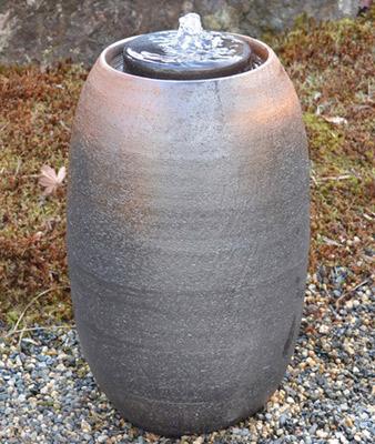 信楽焼 水琴窟 a.small 琴音S-5(窯自然釉)