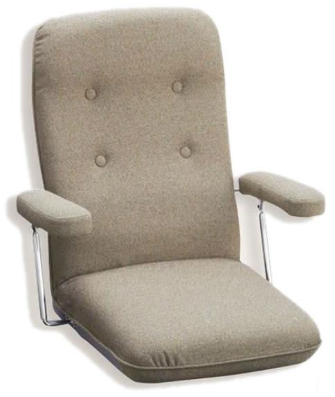【肘可動】【セミオーダー】【生地12種類】1532 座椅子