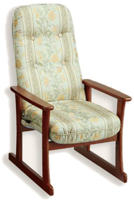 【高座椅子】【セミオーダー】【生地14種類】5335 シルバーチェア