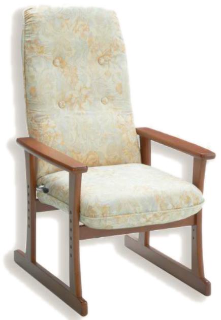 【高座椅子】【セミオーダー】【生地14種類】5338 シルバーチェア