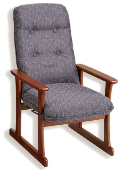 【高座椅子】【セミオーダー】【生地14種類】5340 シルバーチェア