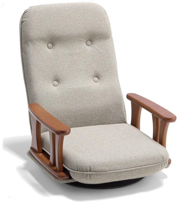 【回転式】【セミオーダー】【生地12種類】5501 座椅子