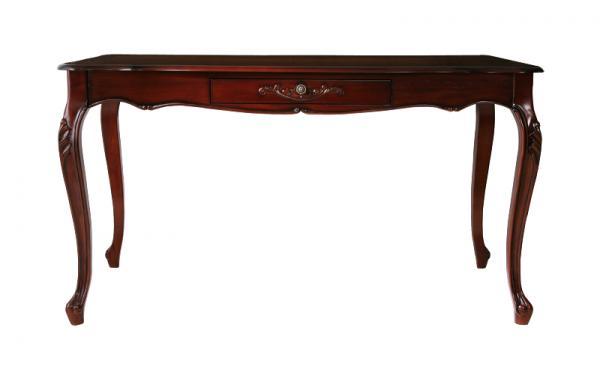 アンティーク調クラシック家具 フランチェスカ:ダイニングテーブル(W135)