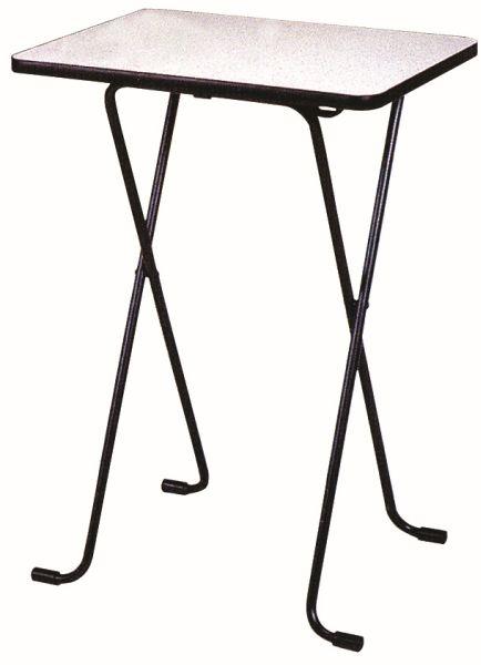 【耐薬品性・耐熱性に優れるメラミン天板】ハイテーブル WT-82
