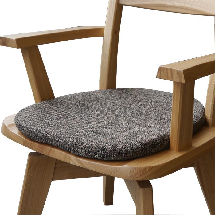 【すべり止め付】フォレスト 椅子用クッション