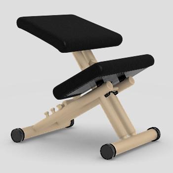 【受注生産】【納期約4カ月】【理想のS字型姿勢で健康な体をつくります】バランス・マルチ LEA009(張地:レザー)