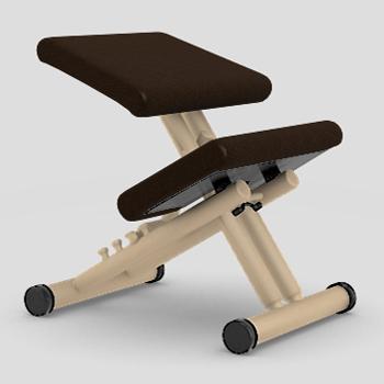 【受注生産】【納期約4カ月】【理想のS字型姿勢で健康な体をつくります】バランス・マルチ LEA814(張地:レザー)