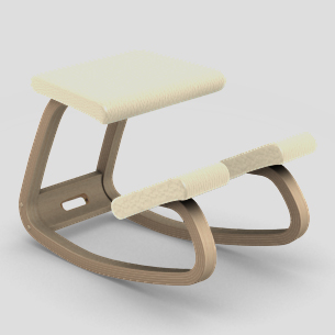 【受注生産】【納期約4カ月】【「動く椅子」の代表選手】バランス・バリアブル LEA703(張地:レザー)