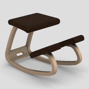 【受注生産】【納期約4カ月】【「動く椅子」の代表選手】バランス・バリアブル LEA814(張地:レザー)