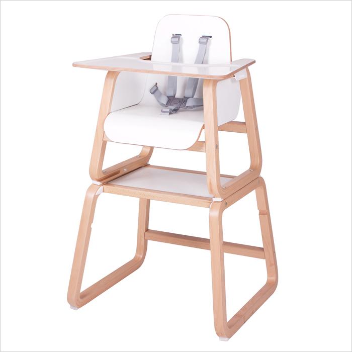 【『つながる』子ども椅子 ベビー・キッズチェアーがイギリスから日本初上陸】Knuma(ヌーマ) コネクト4in1チェア