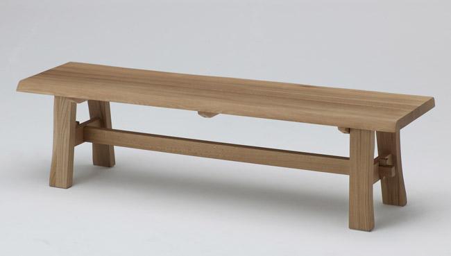 【幅155cm】【天然木ならではの表情が楽しめるベンチ】古彩 ベンチ 幅155cm KO-B155