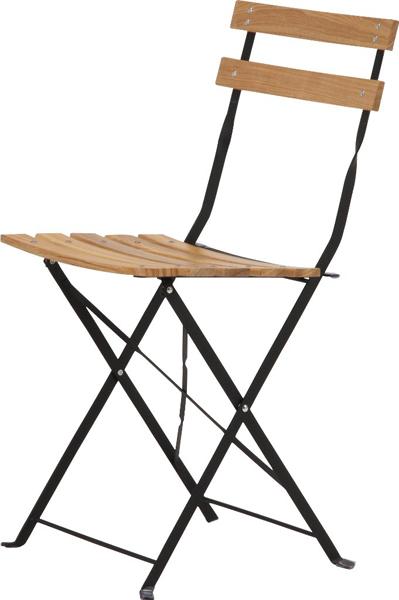 【収納、持ち運びに便利な折畳式】白木材チェア CF-F-012C(2脚入)