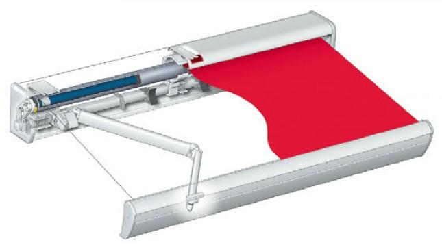 タチカワ オーニング サンビジョンII ボックスタイプ 電動・手動兼用式