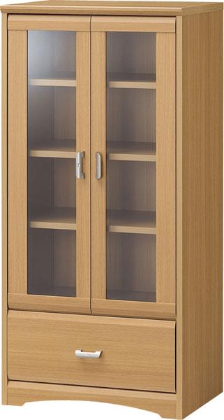 【玄関から寝室まで、トータルで揃うナチュラル家具】キャビネット WVR-1255GH
