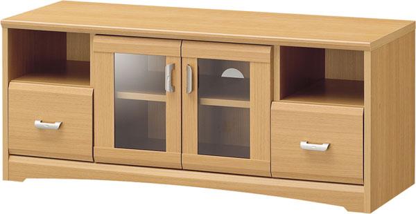【玄関から寝室まで、トータルで揃うナチュラル家具】AVボード WVR-4511GH