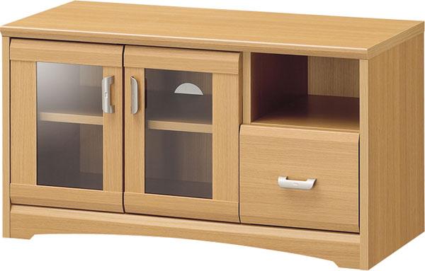 【玄関から寝室まで、トータルで揃うナチュラル家具】AVボード WVR-4585GH