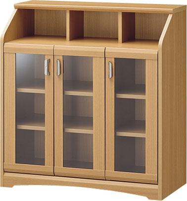 【玄関から寝室まで、トータルで揃うナチュラル家具】キャビネット WVR-9085G