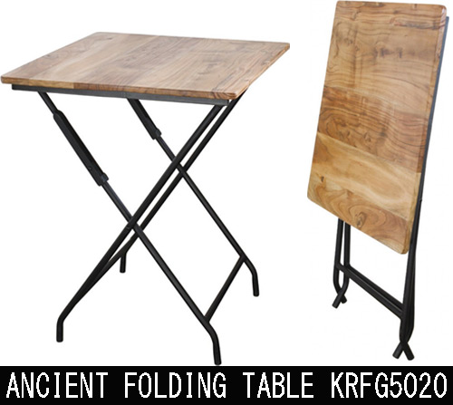 ANCIENT FOLDING TABLE KRFG5020