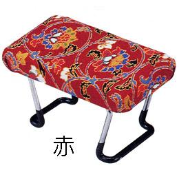 らくらく正座椅子 ワンタッチ型 D-7 赤