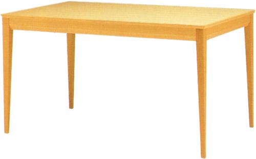 【繊細で真っすぐ。 ダイニングを格調高くしてくれます。】ピント テーブル T-2613WB-NT
