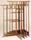 日本製 衣桁 レディーハンガー(小・L)