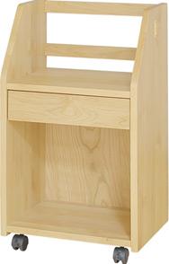 【上棚にはランドセルがすっぽり置け、下棚には本などをたっぷり収納可能】ココ スタイル ランドセルワゴン