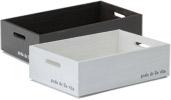 スタッキング BOX(LL) NLY-04(DBR・WH) 3個入