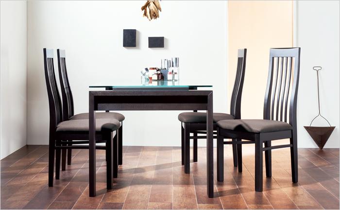 ダイニングテーブル5点セット 幅150cm DT-08-150