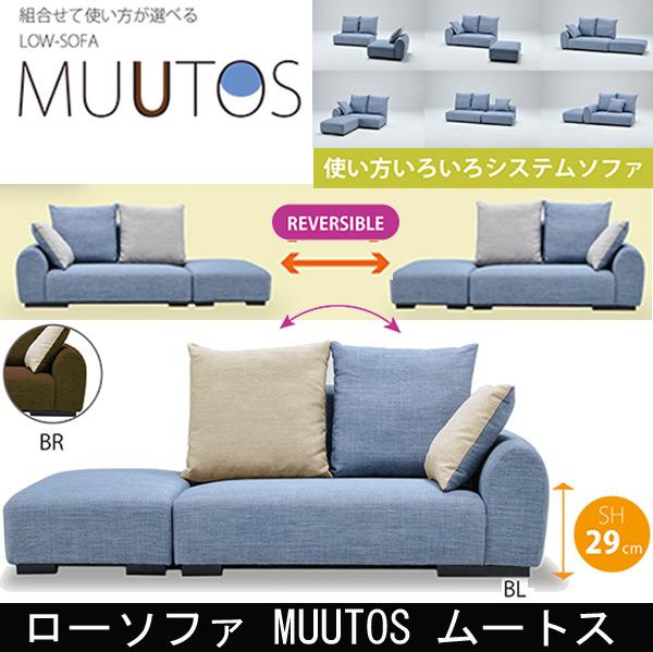 ローソファ MUUTOS ムートス