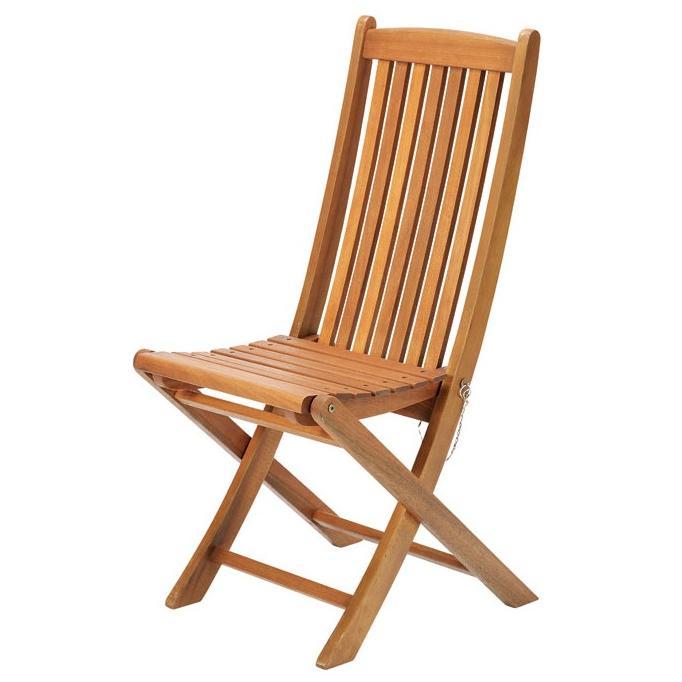 【高品質木材と天然系オイル仕上げ】ガーデンチェア C-1