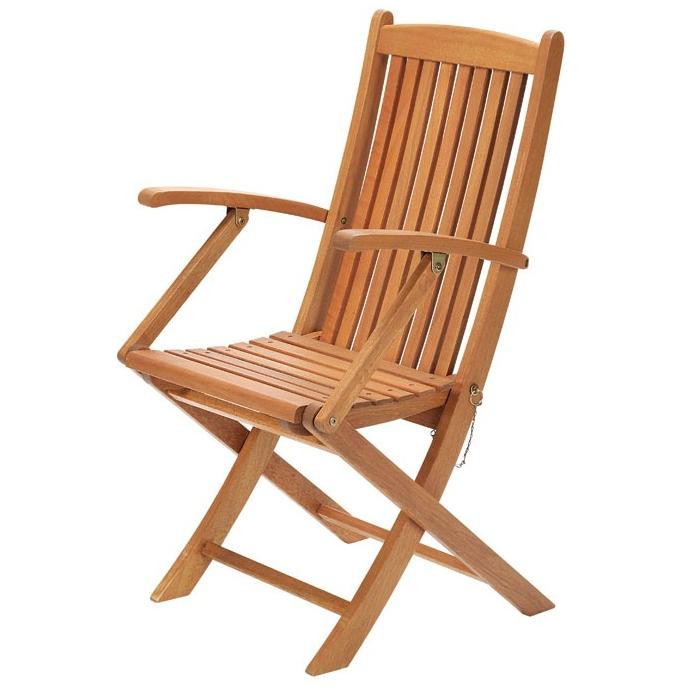 【高品質木材と天然系オイル仕上げ】Orne de siesta(オルネ ド シエスタ) ガーデンアームチェア C-2