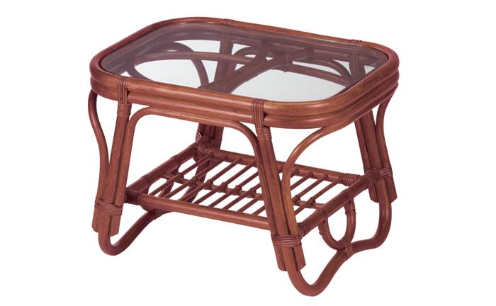 NO.36D テーブル 籐製品 老舗 今枝ラタン