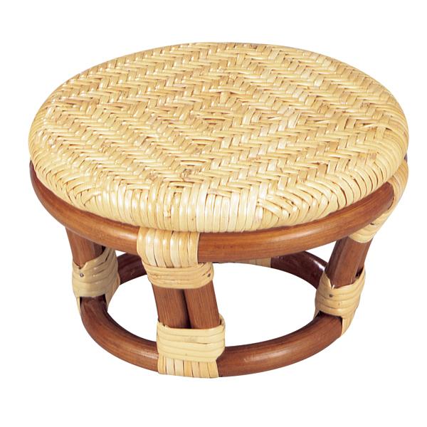 SZ-202A 正座椅子(丸) 籐製品 老舗 今枝ラタン