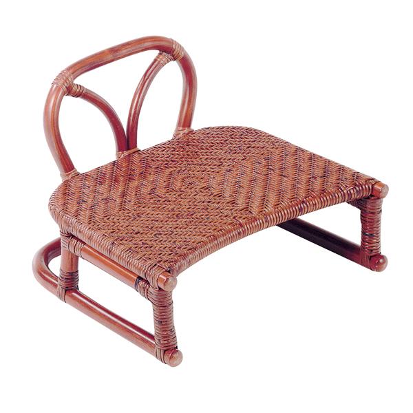 SZ-204D 背付正座椅子 籐製品 老舗 今枝ラタン
