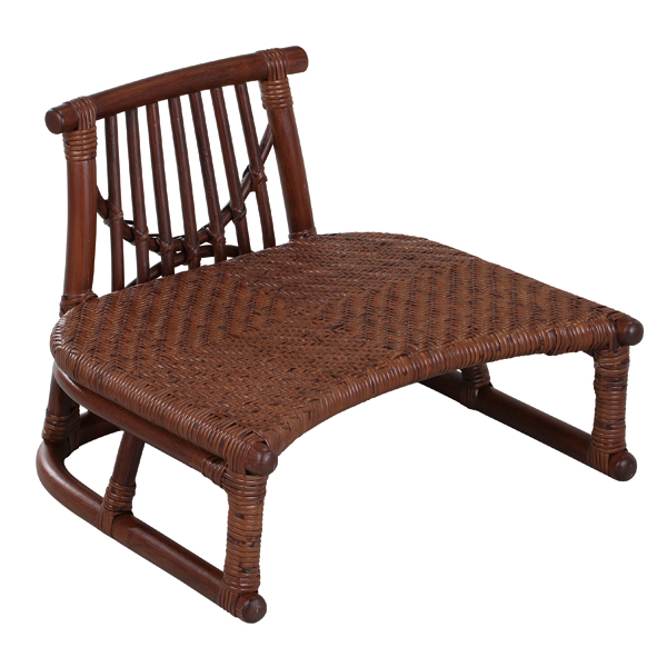 SZ-205D 背付正座椅子 籐製品 老舗 今枝ラタン