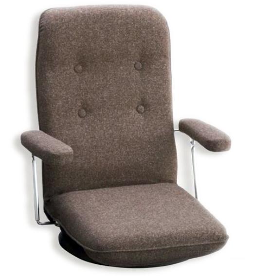 【回転式】【セミオーダー】【生地12種類】3032 回転座椅子