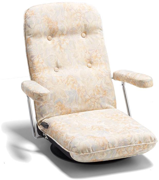 【回転式】【セミオーダー】【生地12種類】5205 座椅子