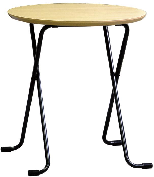 【テーブルとして重宝する天板高さ68cm丸天板タイプ】テーブル丸 W-63
