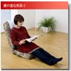 【ラクラクリクライニング】腰のラクな座椅子 SP-875L(S-101)