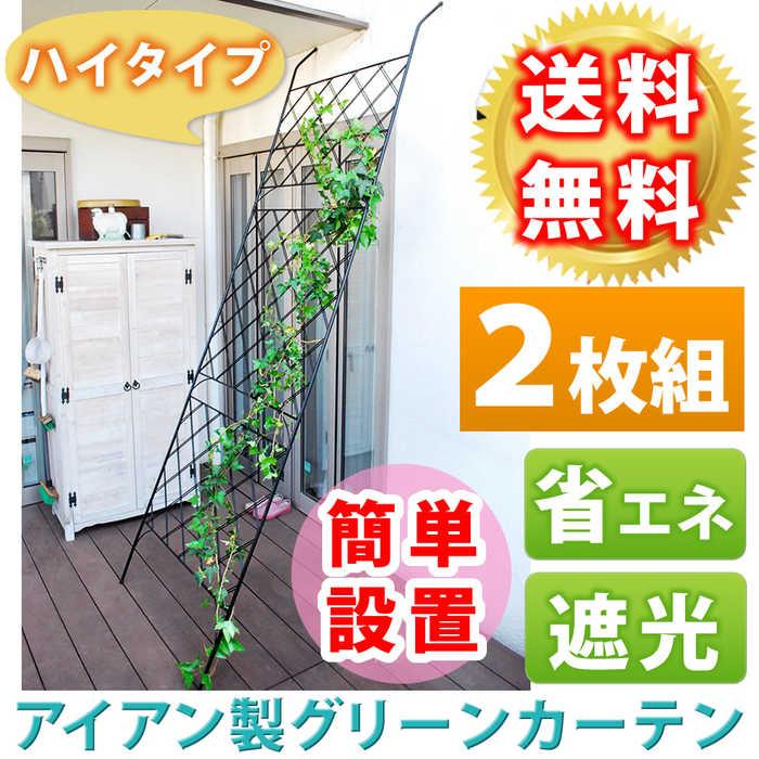 アイアン製グリーンカーテン  2枚組