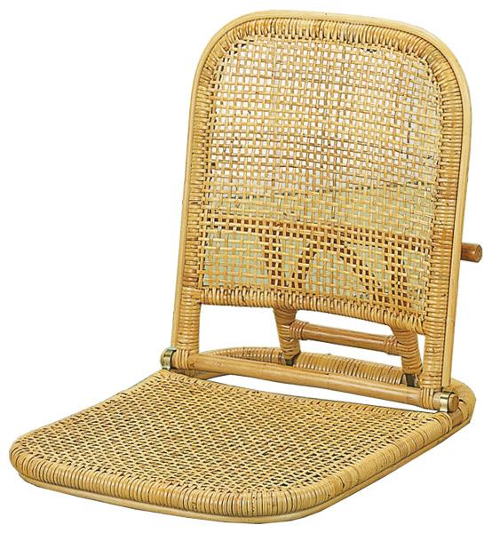 【エンジェルラタン/籐家具コレクション】座椅子 S-11