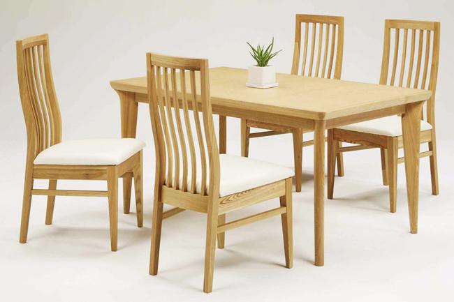 【スマートなデザインが魅力的】パルミラ ダイニングテーブル
