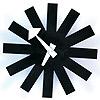 【ユニークな針のデザイン】ジョージ・ネルソン アスタリスククロック 掛け時計 CW07