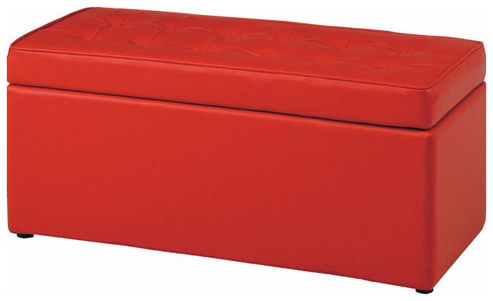 【座面下は収納BOX付き】トランクベンチ N0549