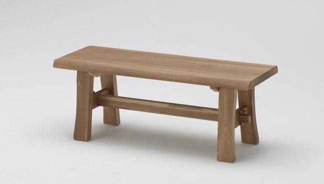 【幅108cm】【天然木ならではの表情が楽しめるベンチ】古彩 ベンチ 幅108cm KO-B108