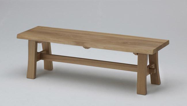 【幅138cm】【天然木ならではの表情が楽しめるベンチ】古彩 ベンチ 幅138cm KO-B138