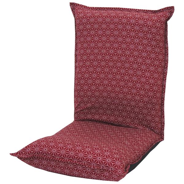 低反発座椅子 刺子柄 和柄座椅子